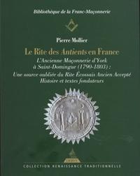 LE RITE DES ANTIENTS EN FRANCE