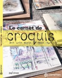 LE CARNET DE CROQUIS