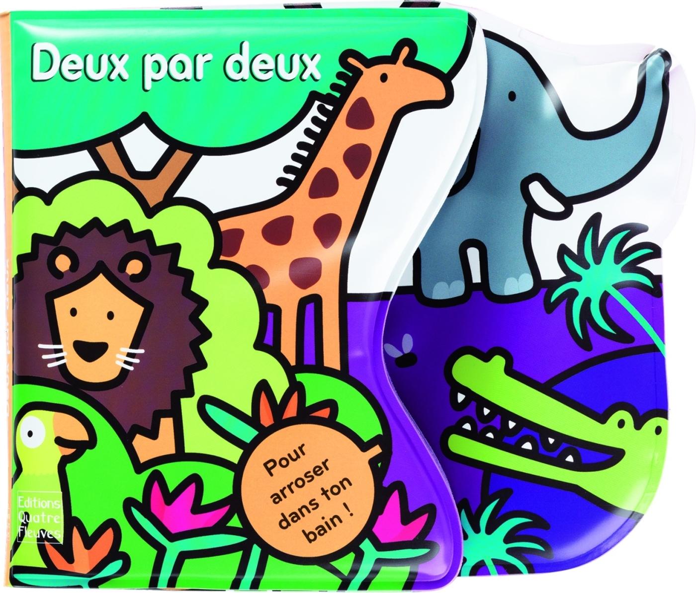 LIVRES DE BAIN AVEC ARROSEUR - DEUX PAR DEUX