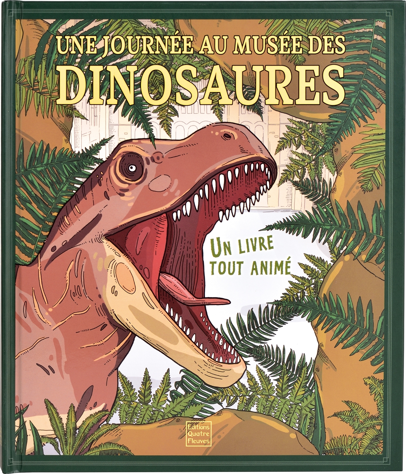 DOCUMENTAIRES ANIMES - UNE JOURNEE AU MUSEE DES DINOSAURES
