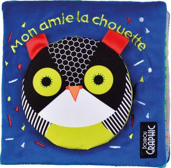DOUDOU GRAPHIC - MON AMIE LA CHOUETTE
