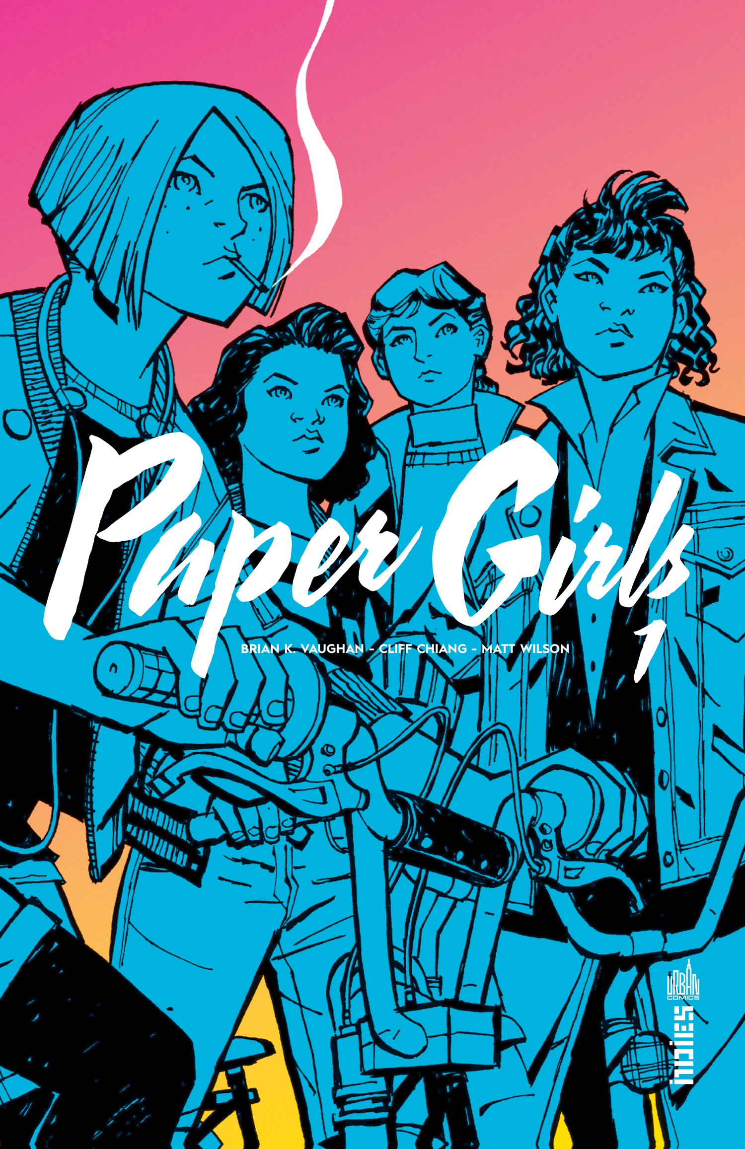 URBAN INDIES - PAPER GIRLS TOME 1