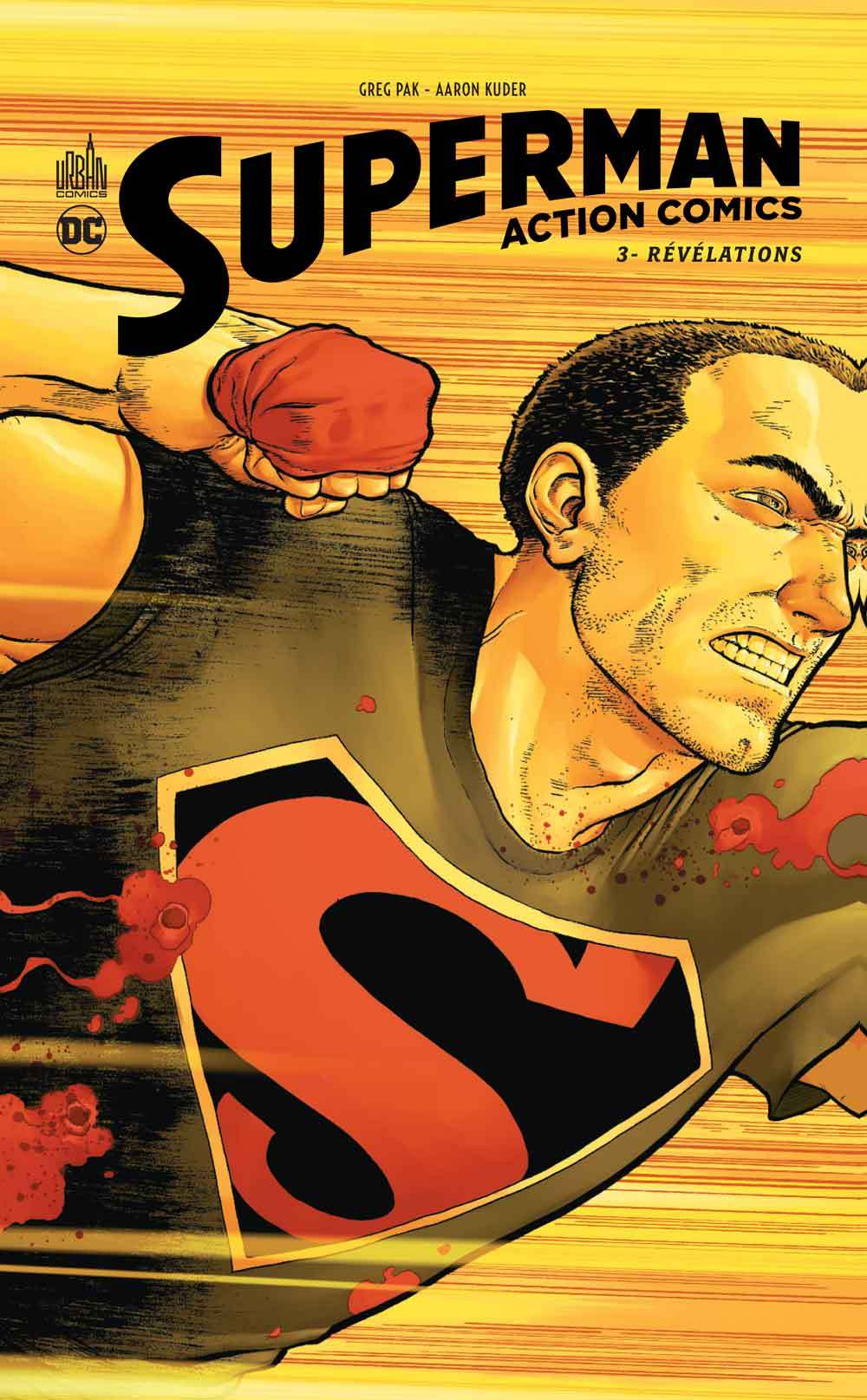 DC RENAISSANCE - SUPERMAN ACTION COMICS TOME 3