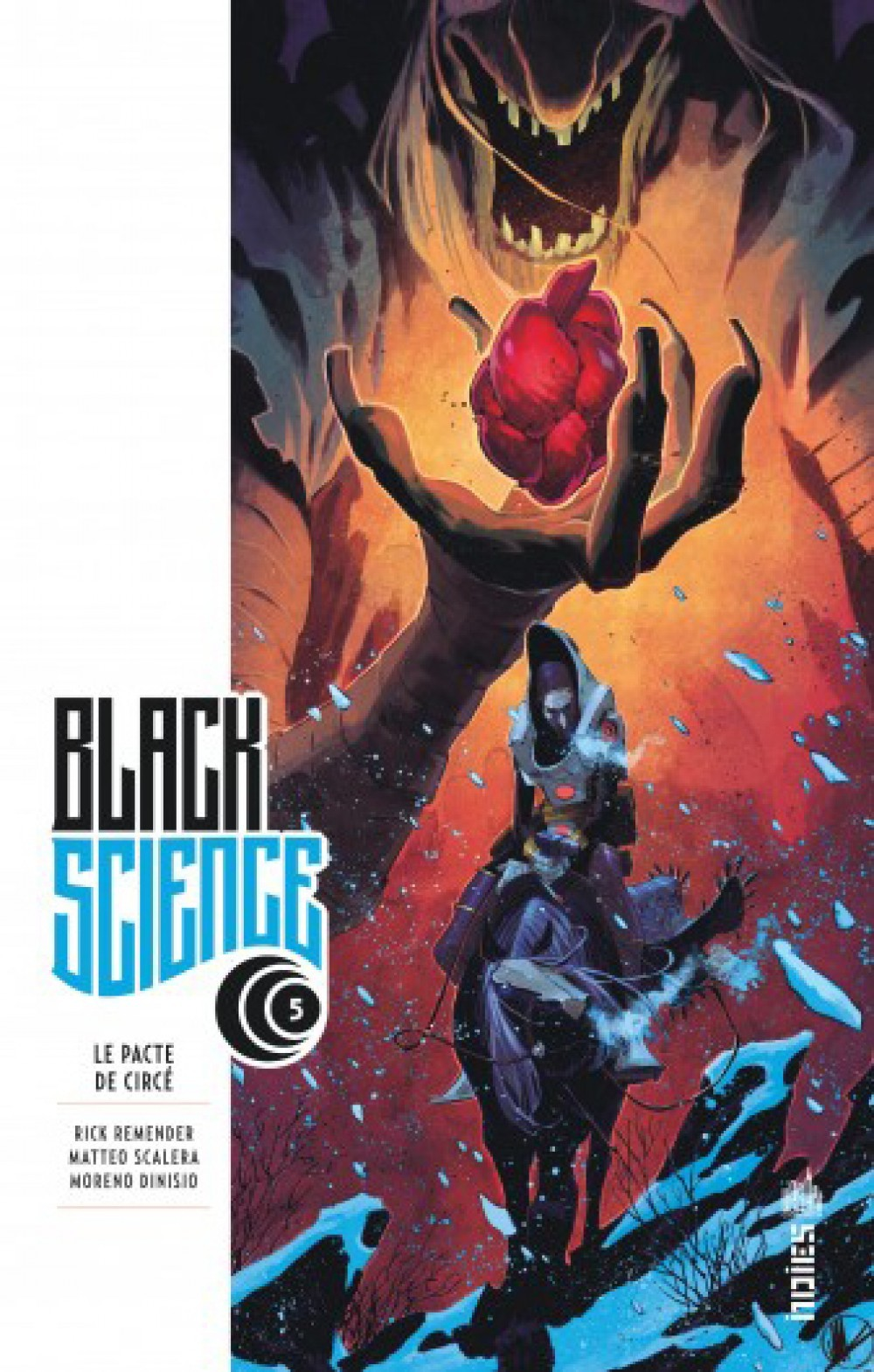 URBAN INDIES - BLACK SCIENCE TOME 5