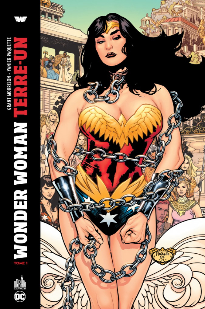 DC DELUXE - WONDER WOMAN TERRE UN TOME 1