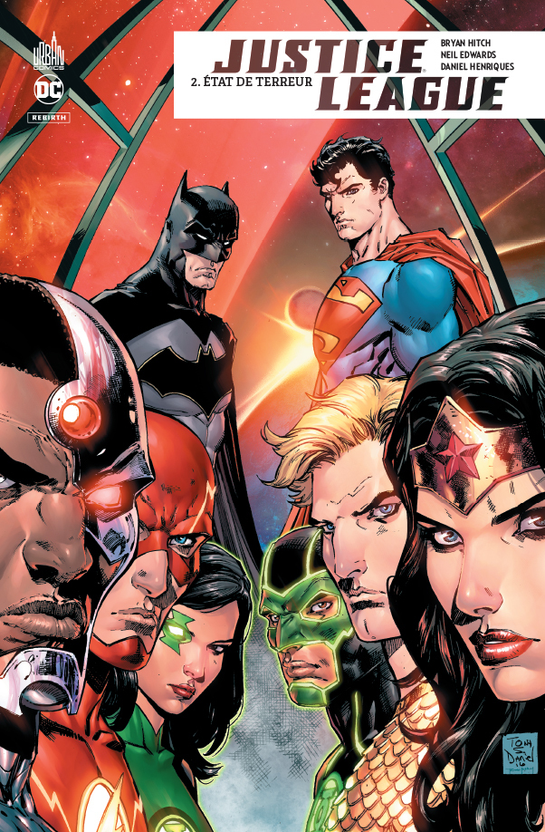 JUSTICE LEAGUE REBIRTH - TOME 2