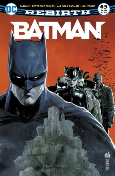 BATMAN REBIRTH 05 BIENVENUE A SANTA PRISCA !