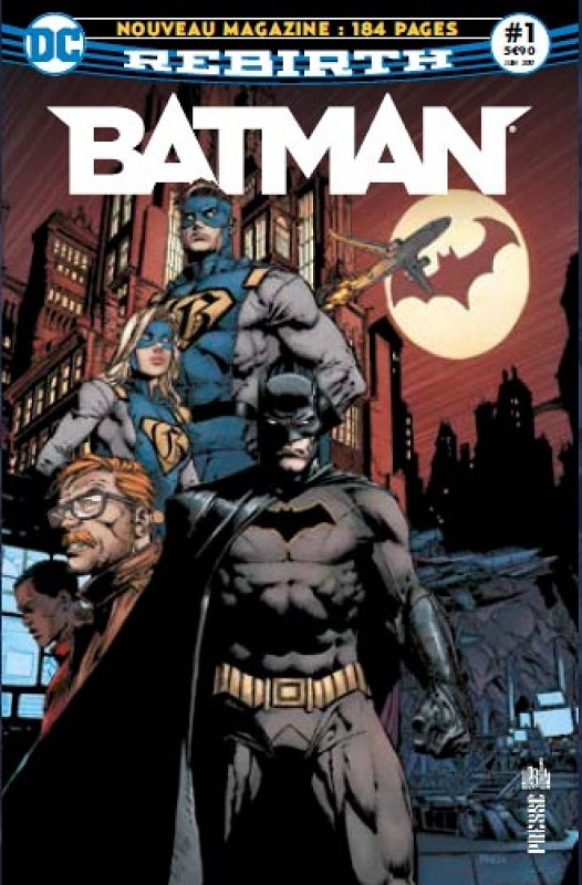 BATMAN REBIRTH 01 LE RETOUR DE BATMAN !