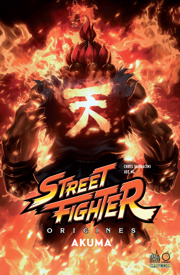 URBAN GAMES - STREET FIGHTER ORIGINES : AKUMA