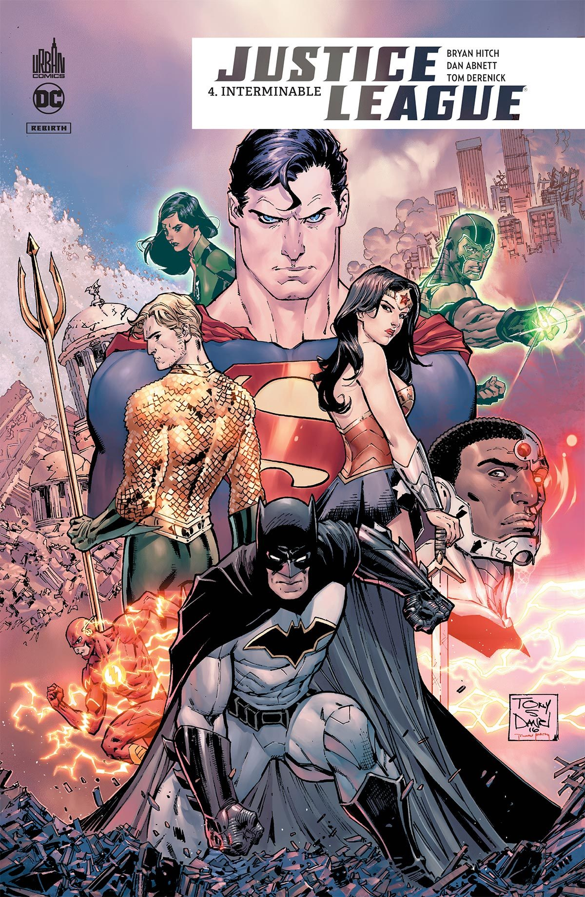 DC REBIRTH - JUSTICE LEAGUE REBIRTH TOME 4
