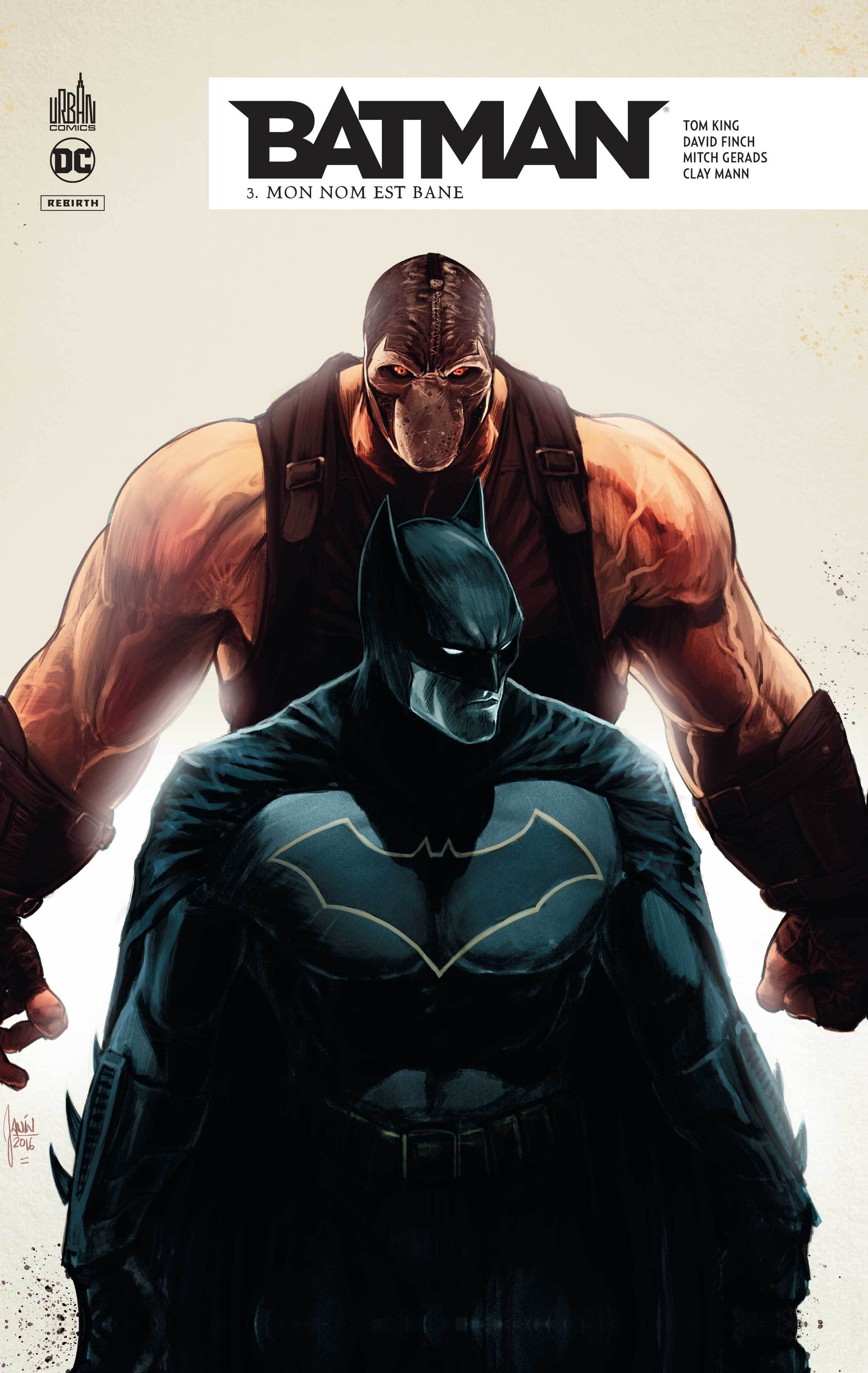 DC REBIRTH - BATMAN REBIRTH TOME 3