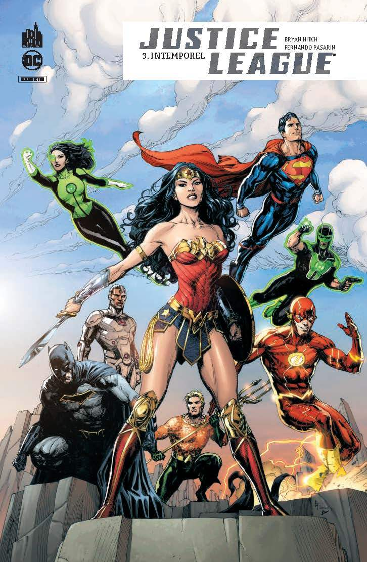 DC REBIRTH - JUSTICE LEAGUE REBIRTH TOME 3