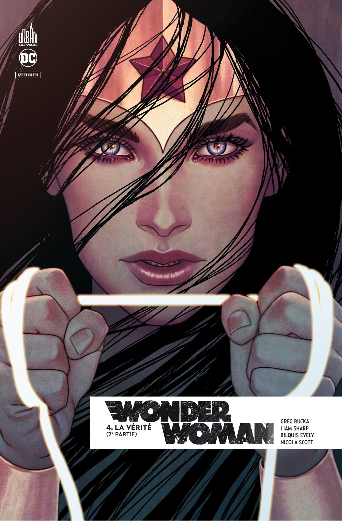 DC REBIRTH - WONDER WOMAN REBIRTH TOME 4