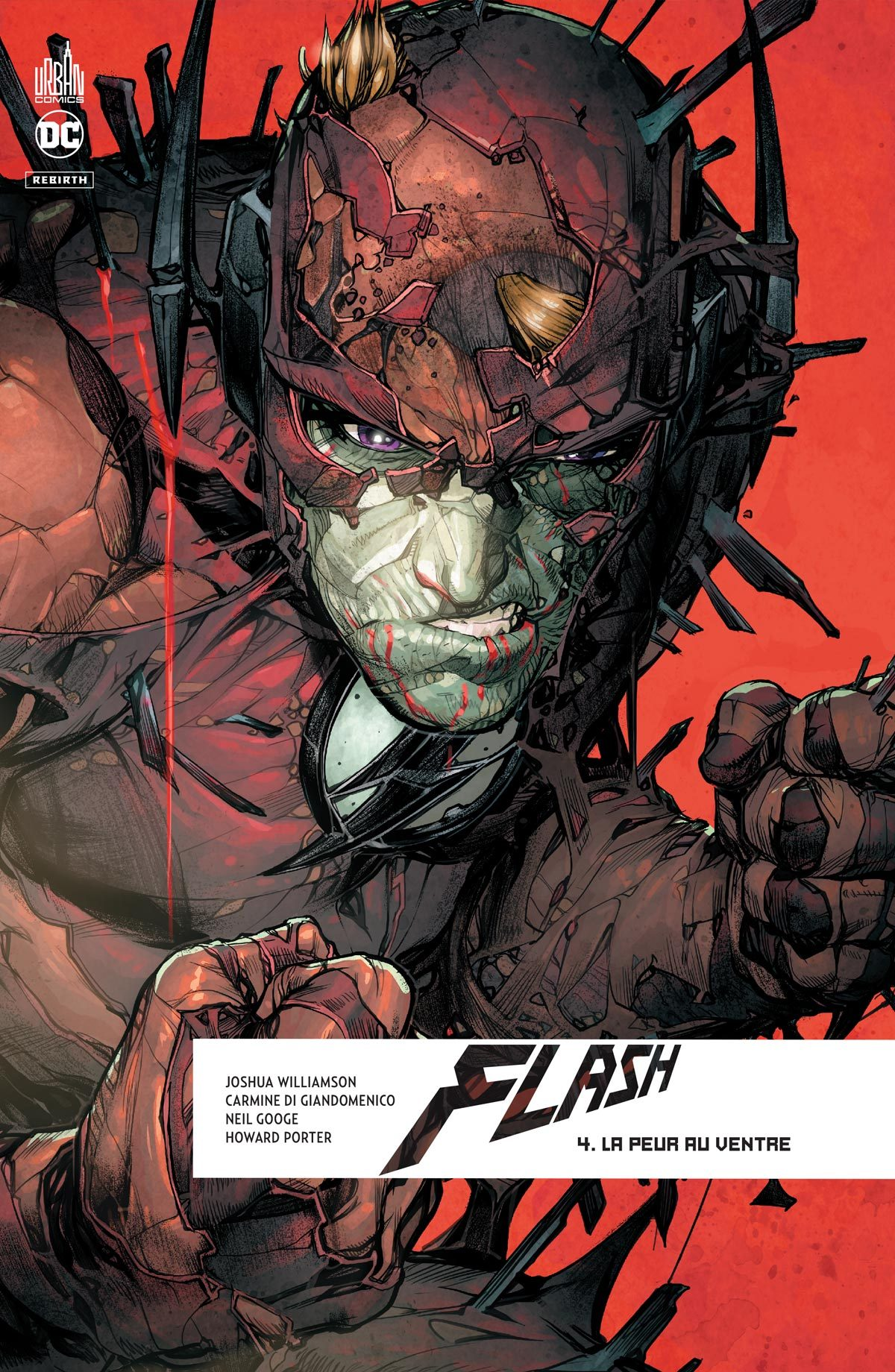 DC REBIRTH - FLASH REBIRTH TOME 4