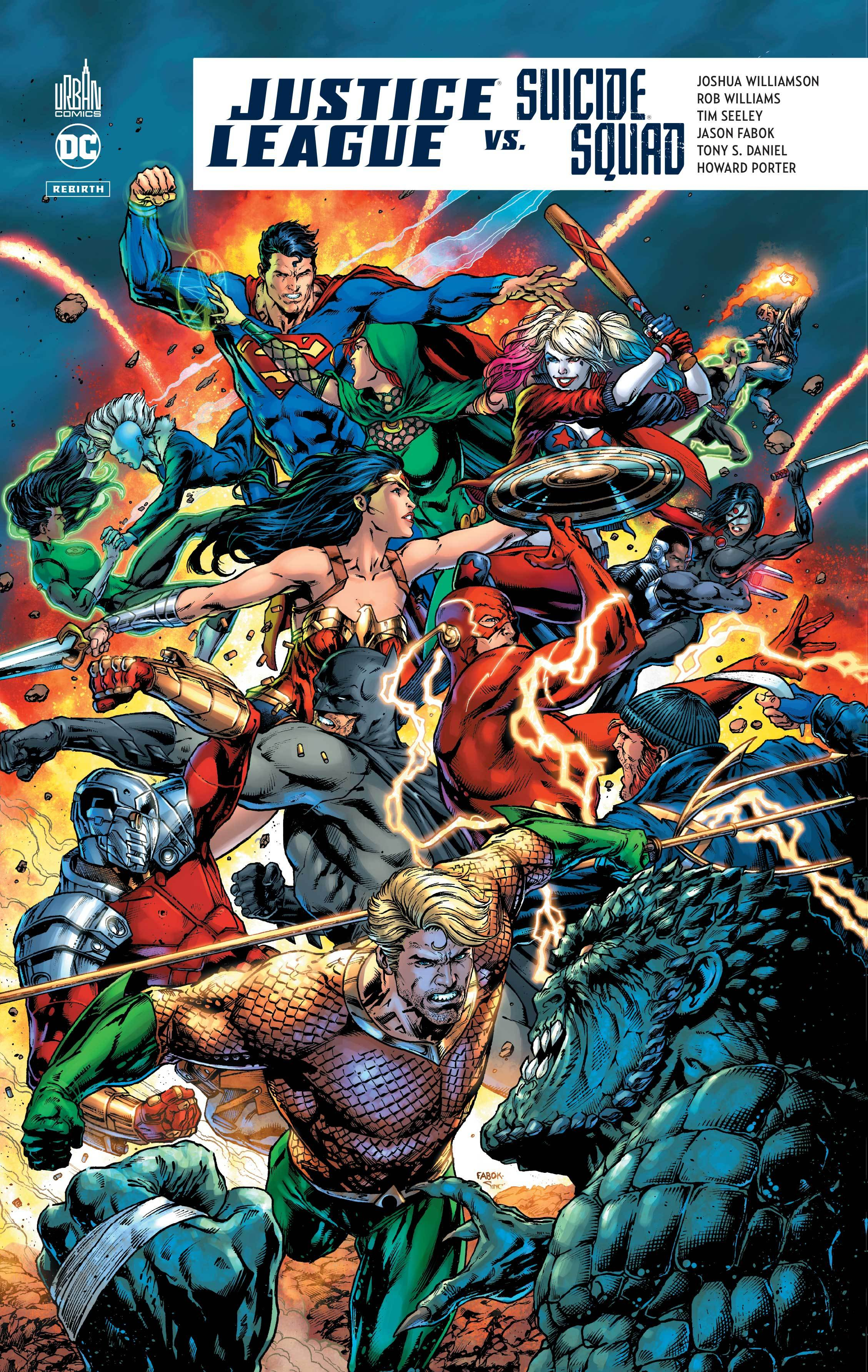 DC REBIRTH - JUSTICE LEAGUE VS SUICIDE SQUAD