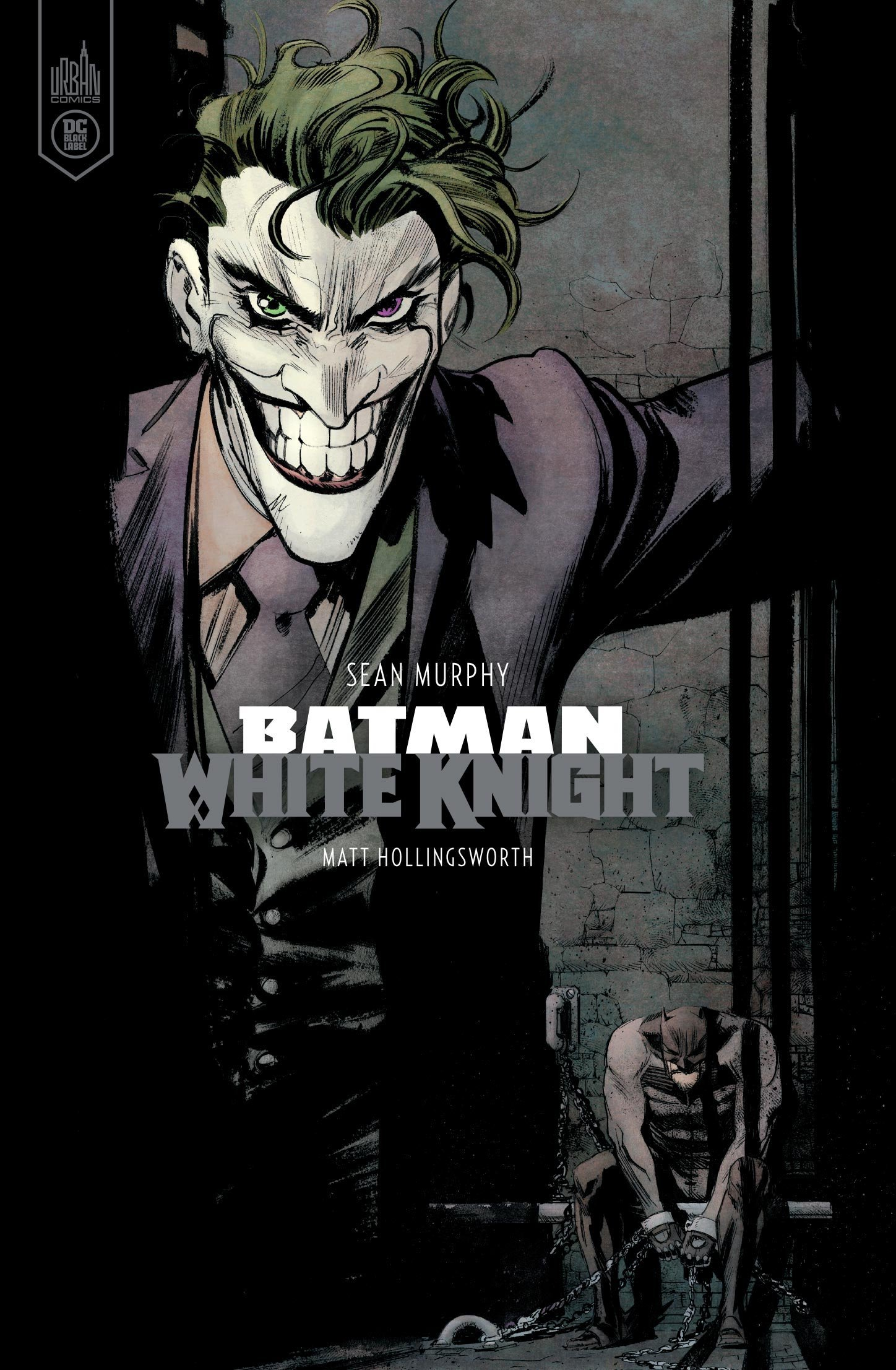 DC BLACK LABEL - BATMAN WHITE KNIGHT - VERSION COULEUR
