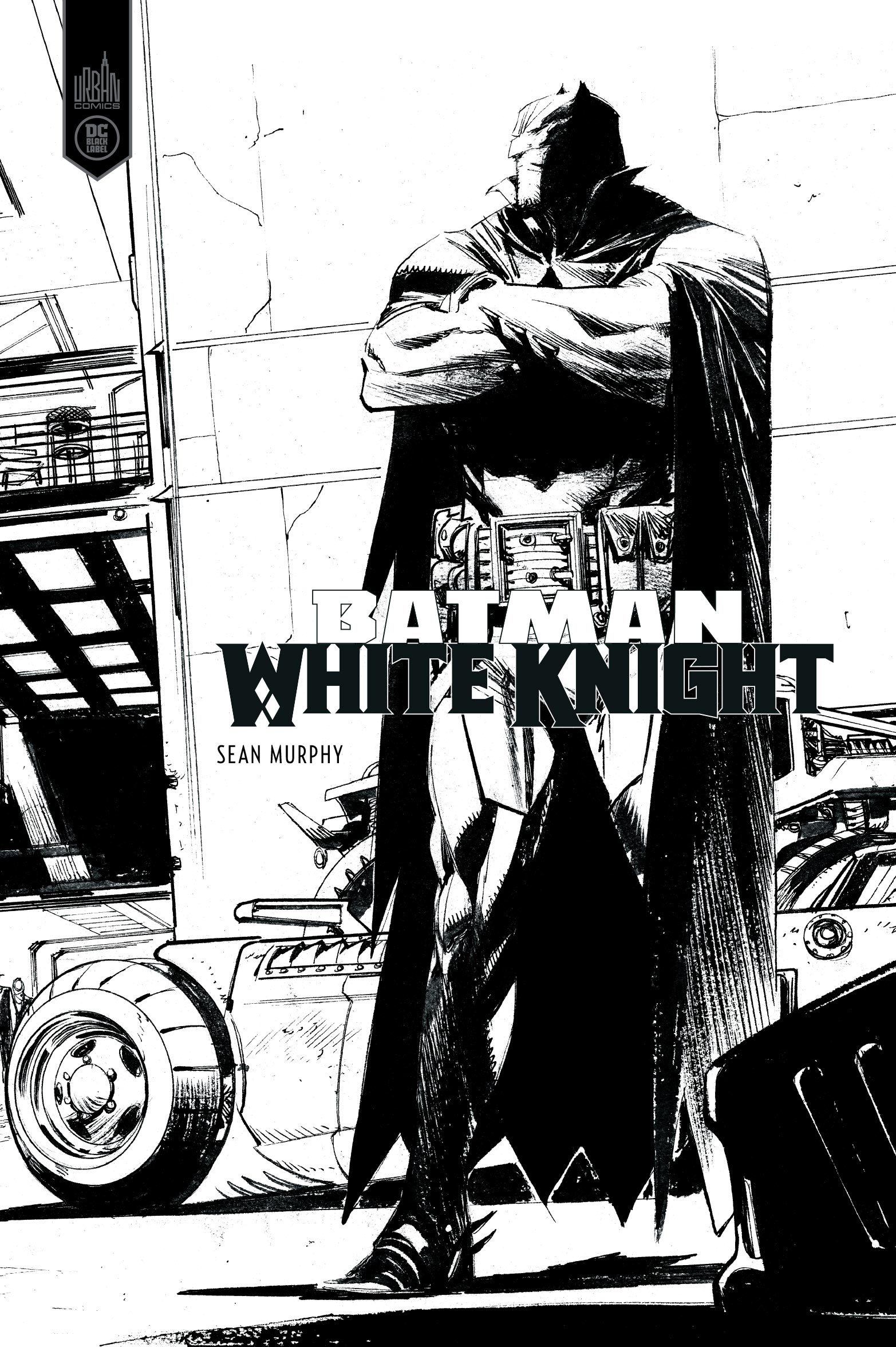 DC BLACK LABEL - BATMAN WHITE KNIGHT -  VERSION N&B
