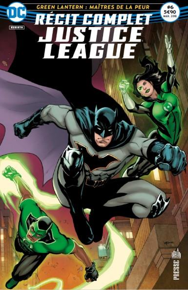 JUSTICE LEAGUE RECIT COMPLET 06 LES GREEN LANTERN ARRIVENT A GOTHAM !