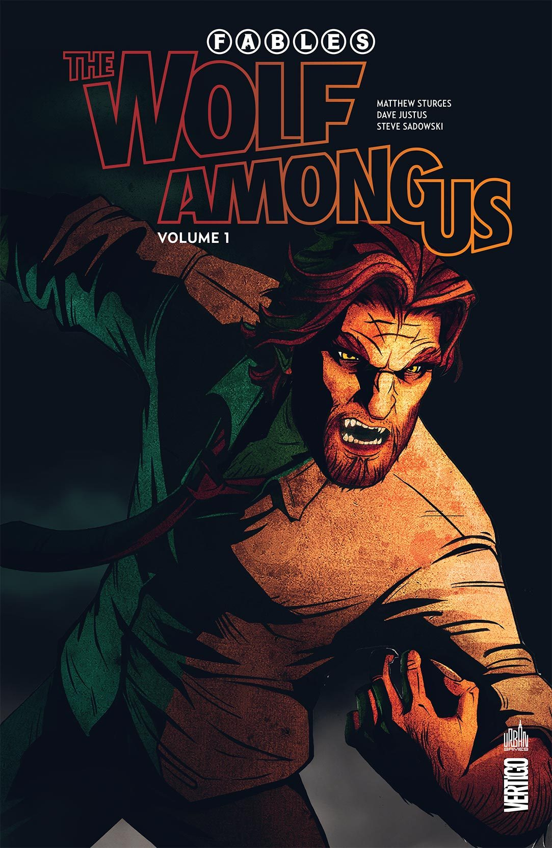 URBAN GAMES - FABLES -  THE WOLF AMONG US TOME 1