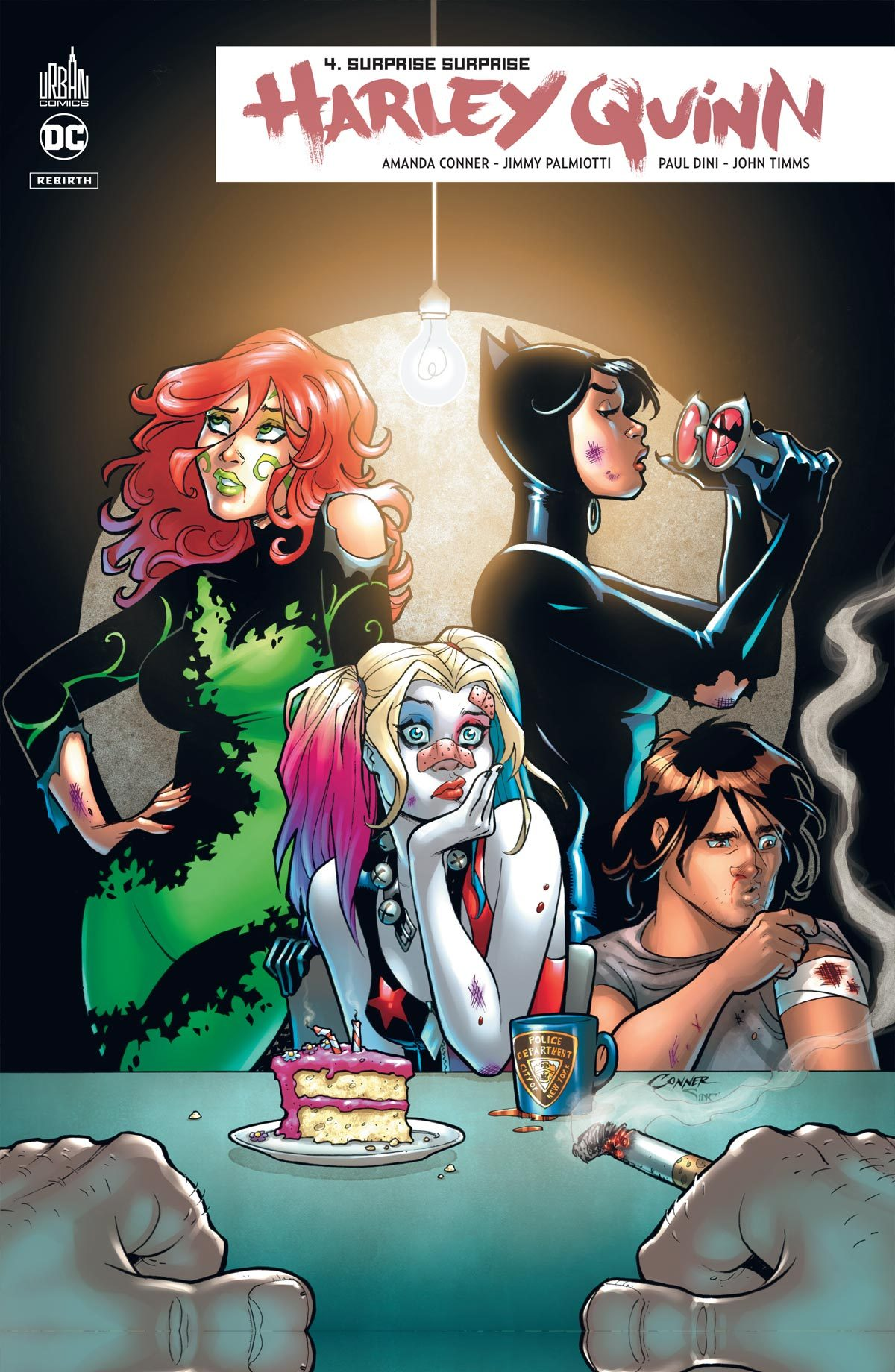 HARLEY QUINN REBIRTH  - TOME 4