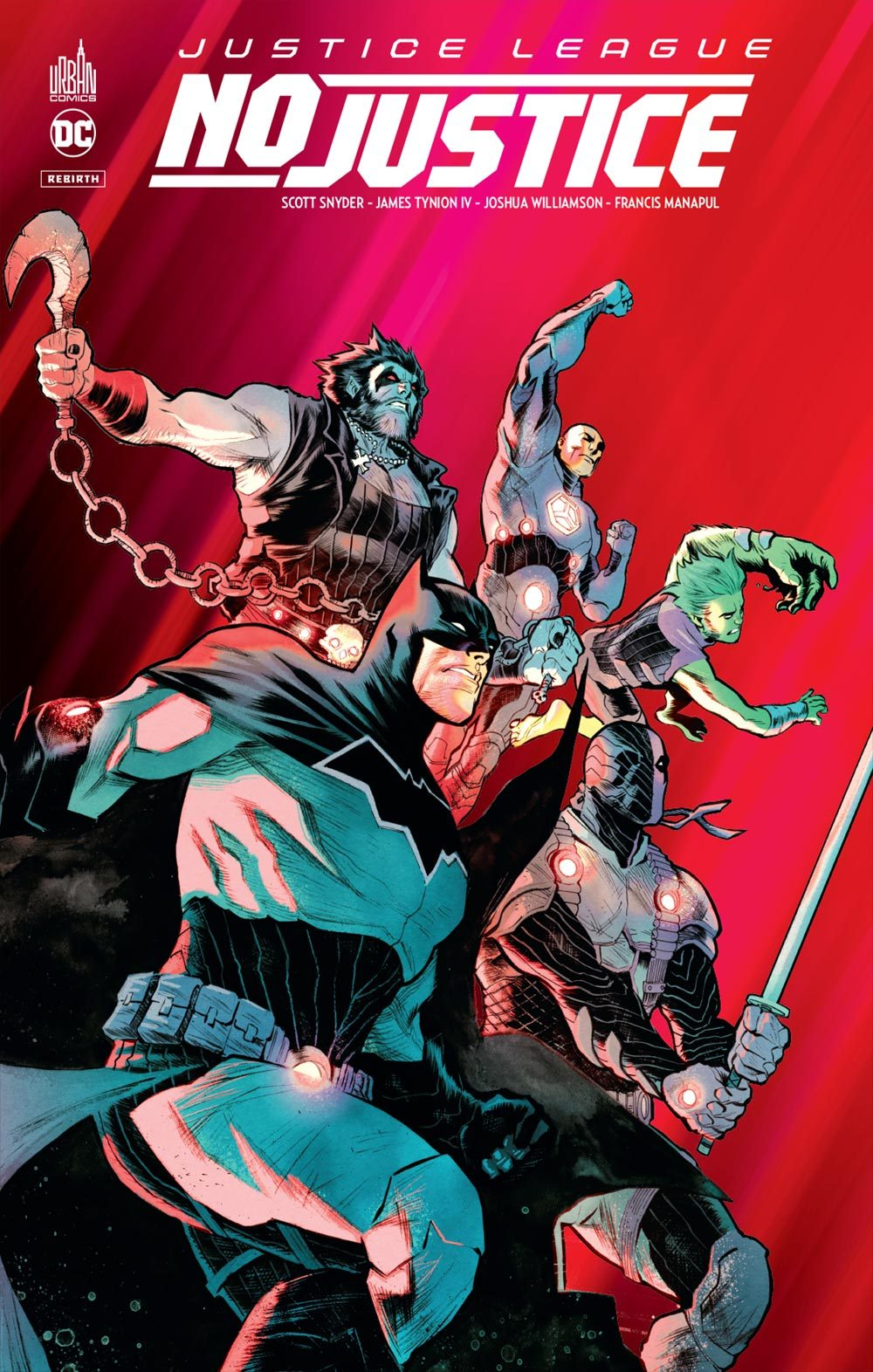 JUSTICE LEAGUE : NO JUSTICE - TOME 0
