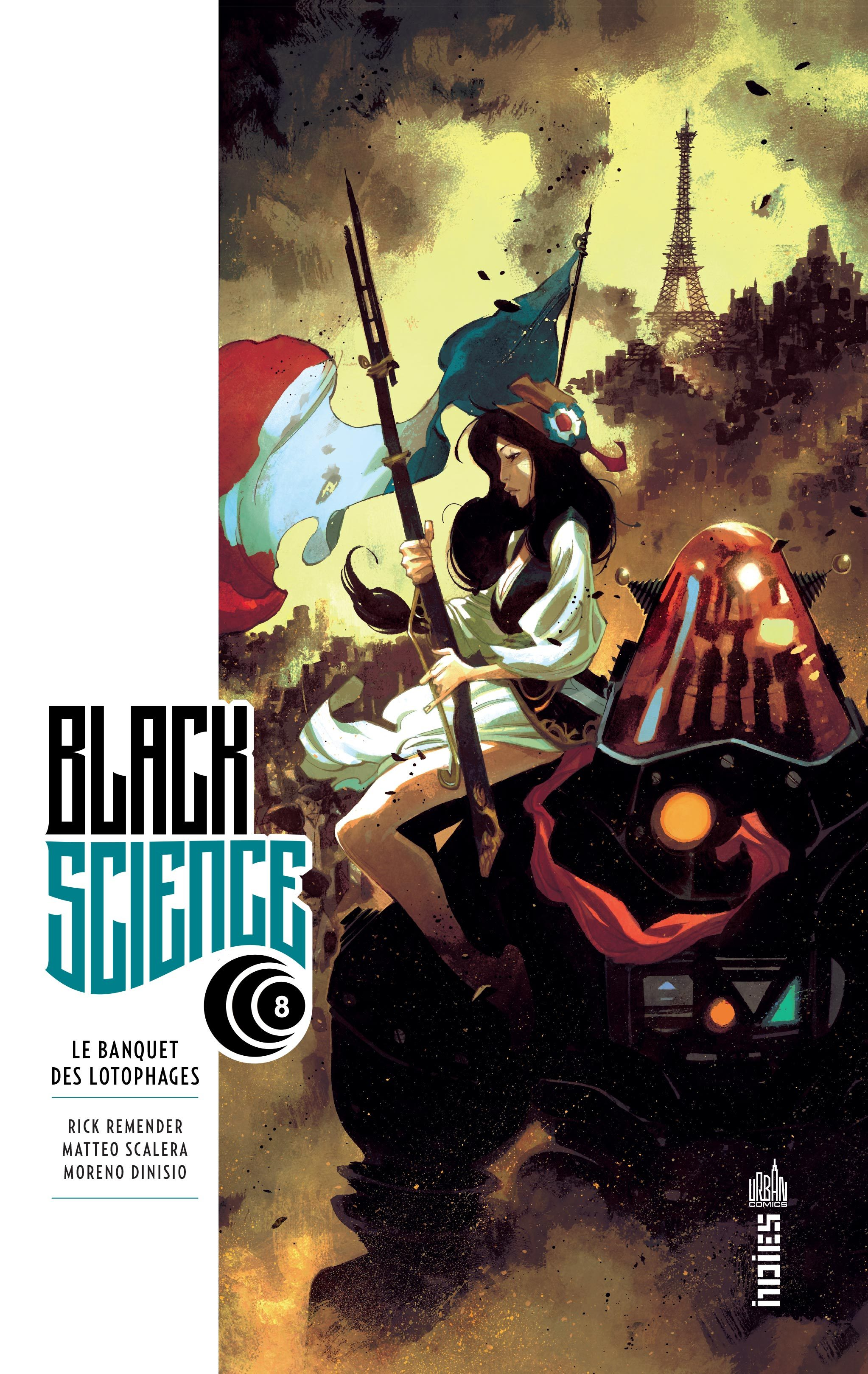 URBAN INDIES - BLACK SCIENCE TOME 8