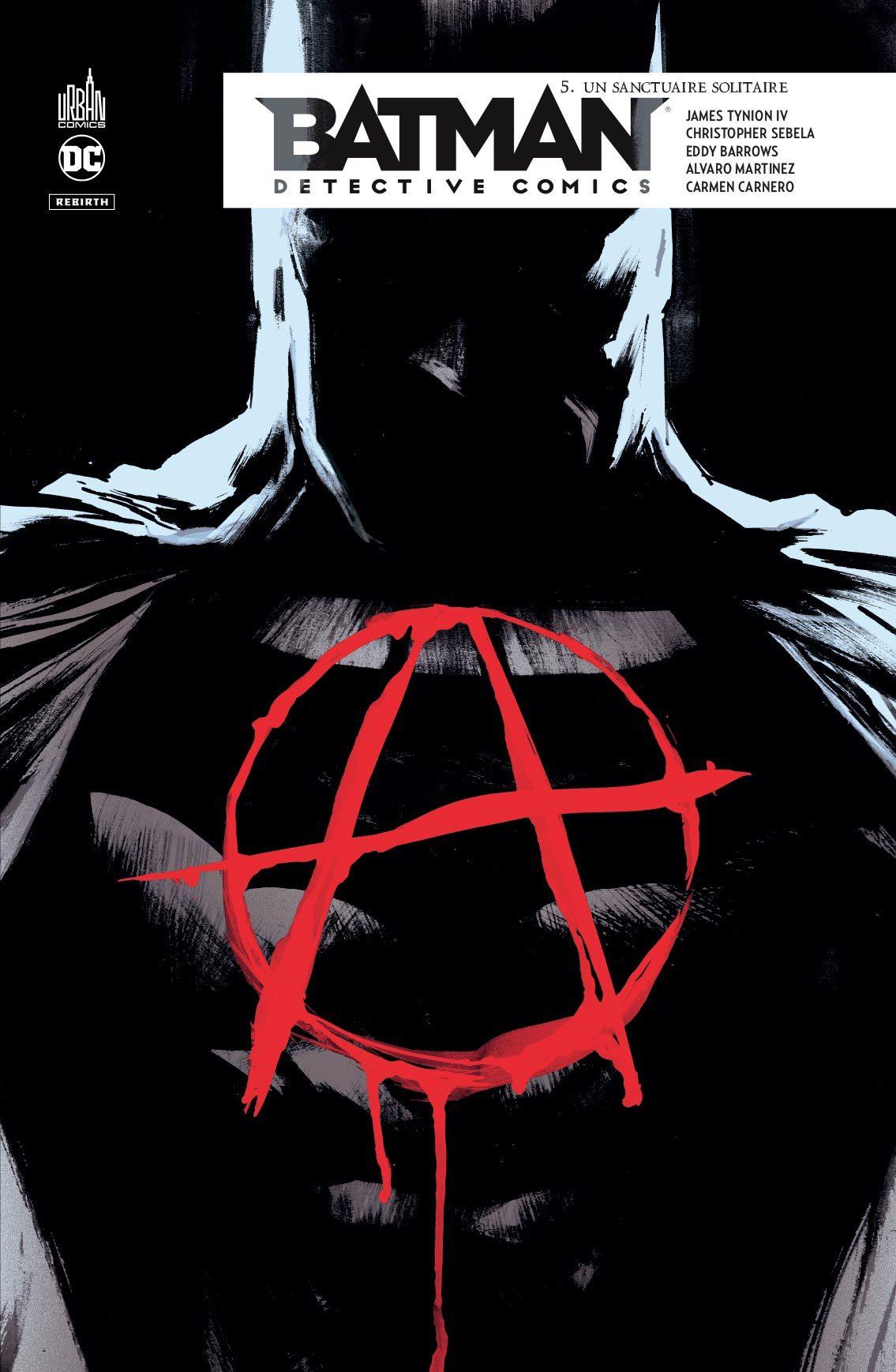 DC REBIRTH - BATMAN DETECTIVE COMICS TOME 5