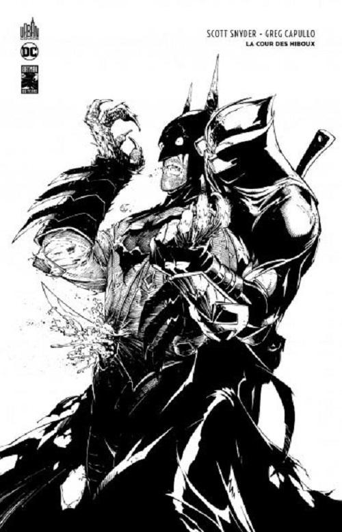 DC ESSENTIELS - T01 - BATMAN : LA COUR DES HIBOUX EDITION N&B 80 ANS