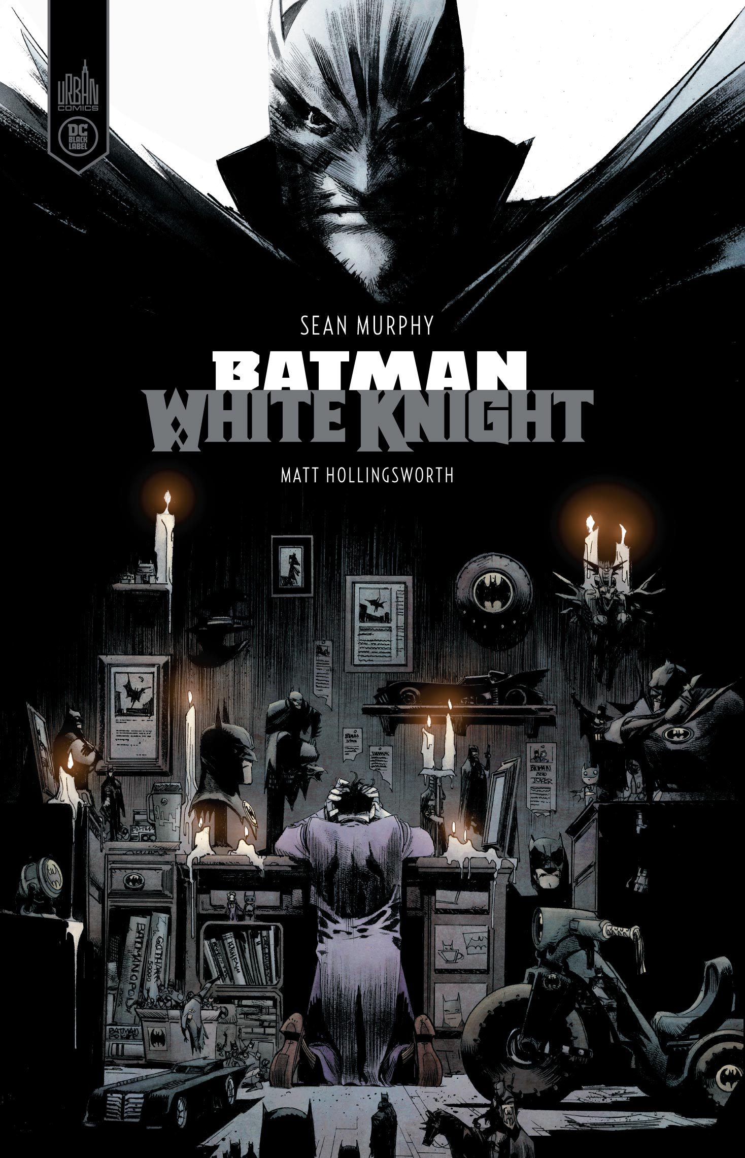DC BLACK LABEL - T01 - BATMAN WHITE KNIGHT COUVERTURE FNAC