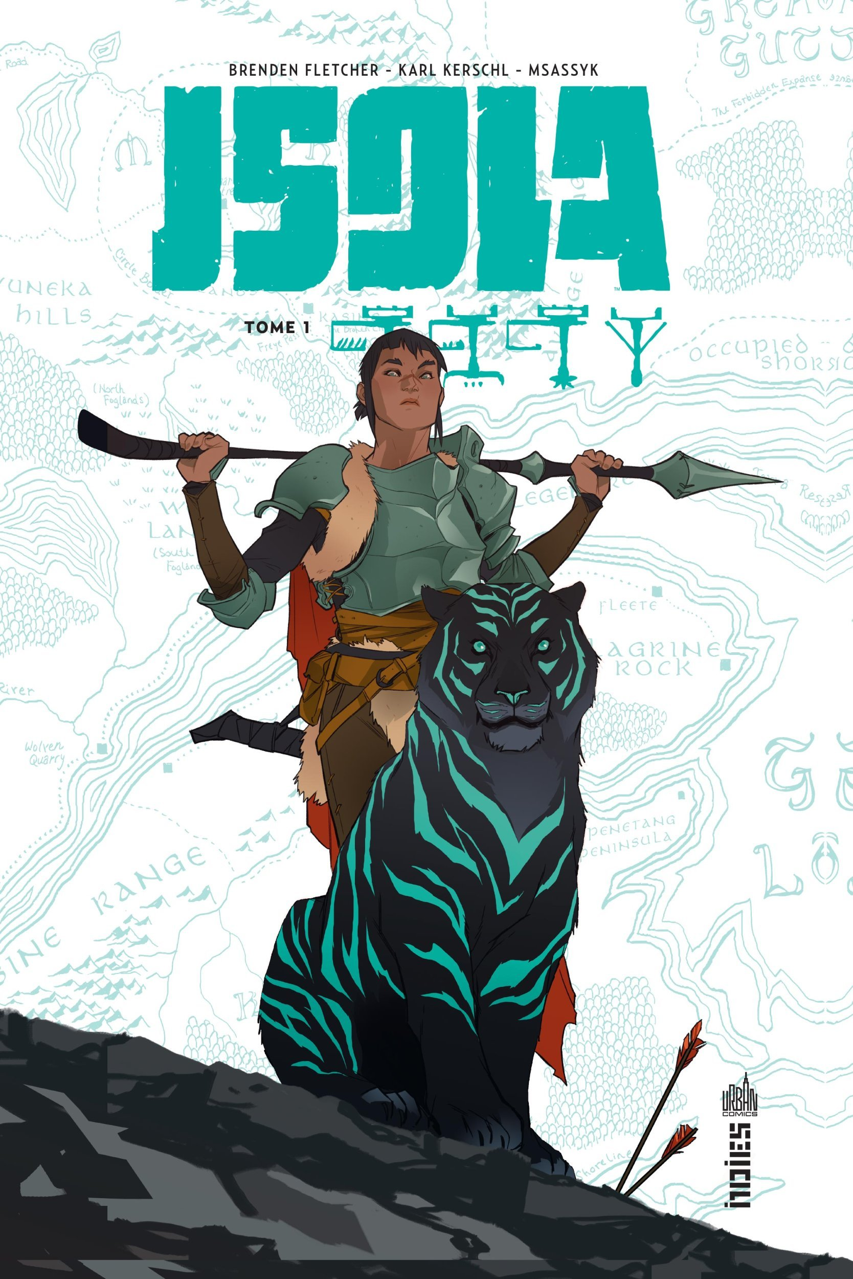 URBAN INDIES - ISOLA TOME 1