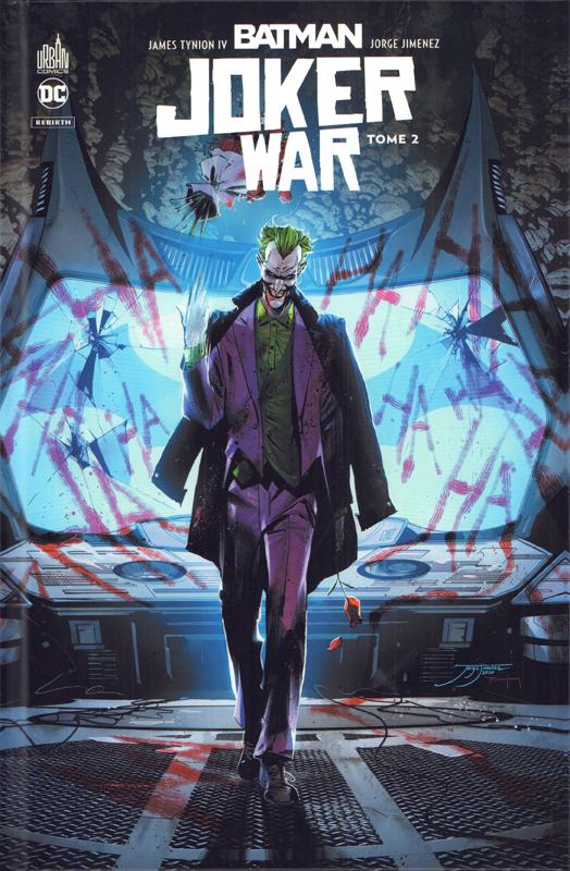 BATMAN REBIRTH JOKER WAR TOME 02