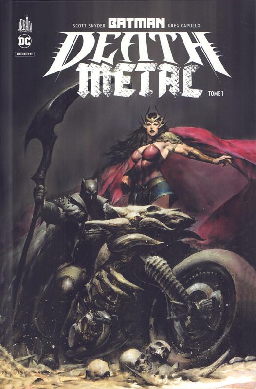 BATMAN DEATH METAL TOME 01