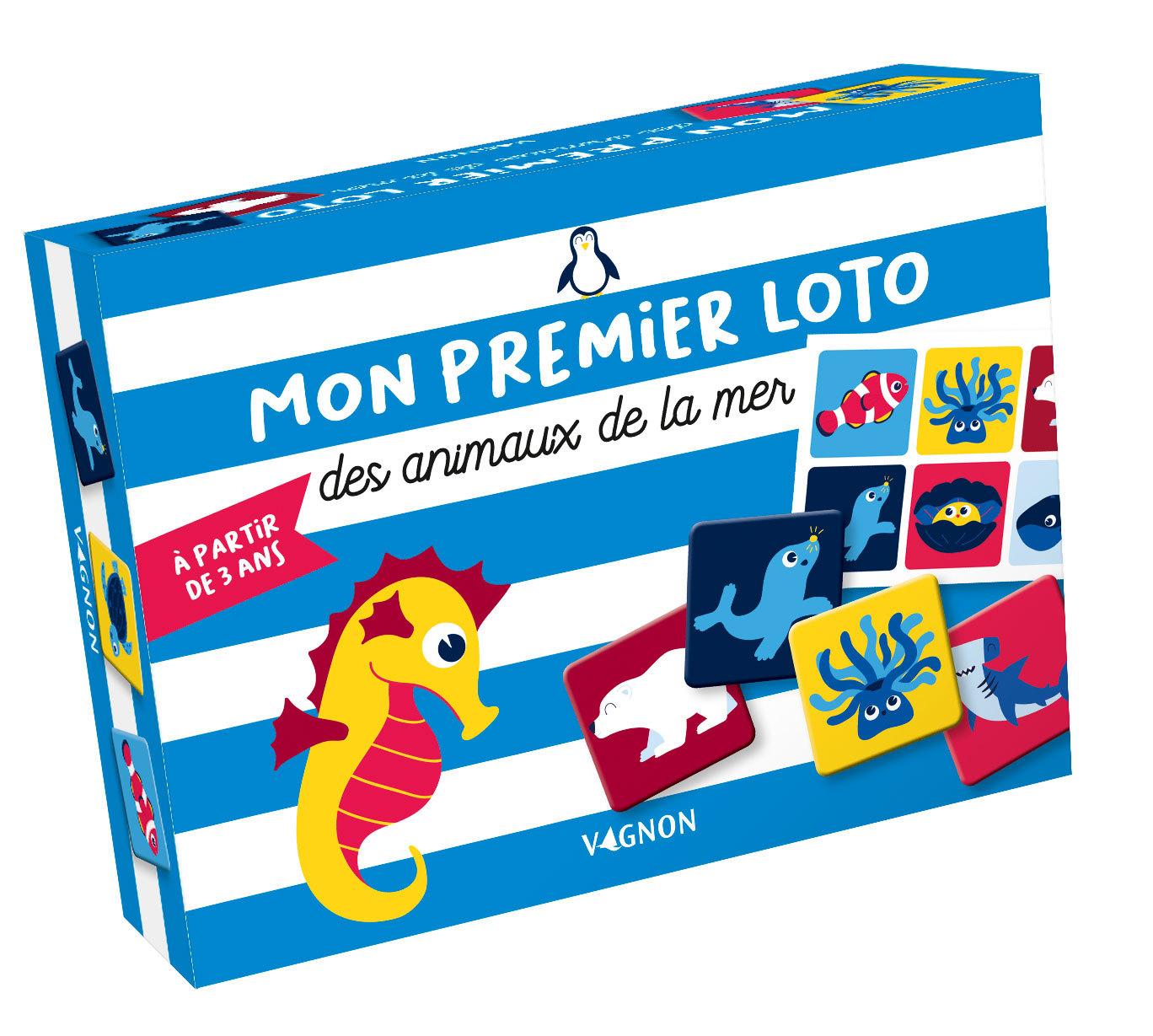 MON PREMIER LOTO DES ANIMAUX DE LA MER