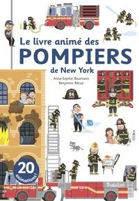 LE LIVRE ANIME DES POMPIERS DE NEW YORK