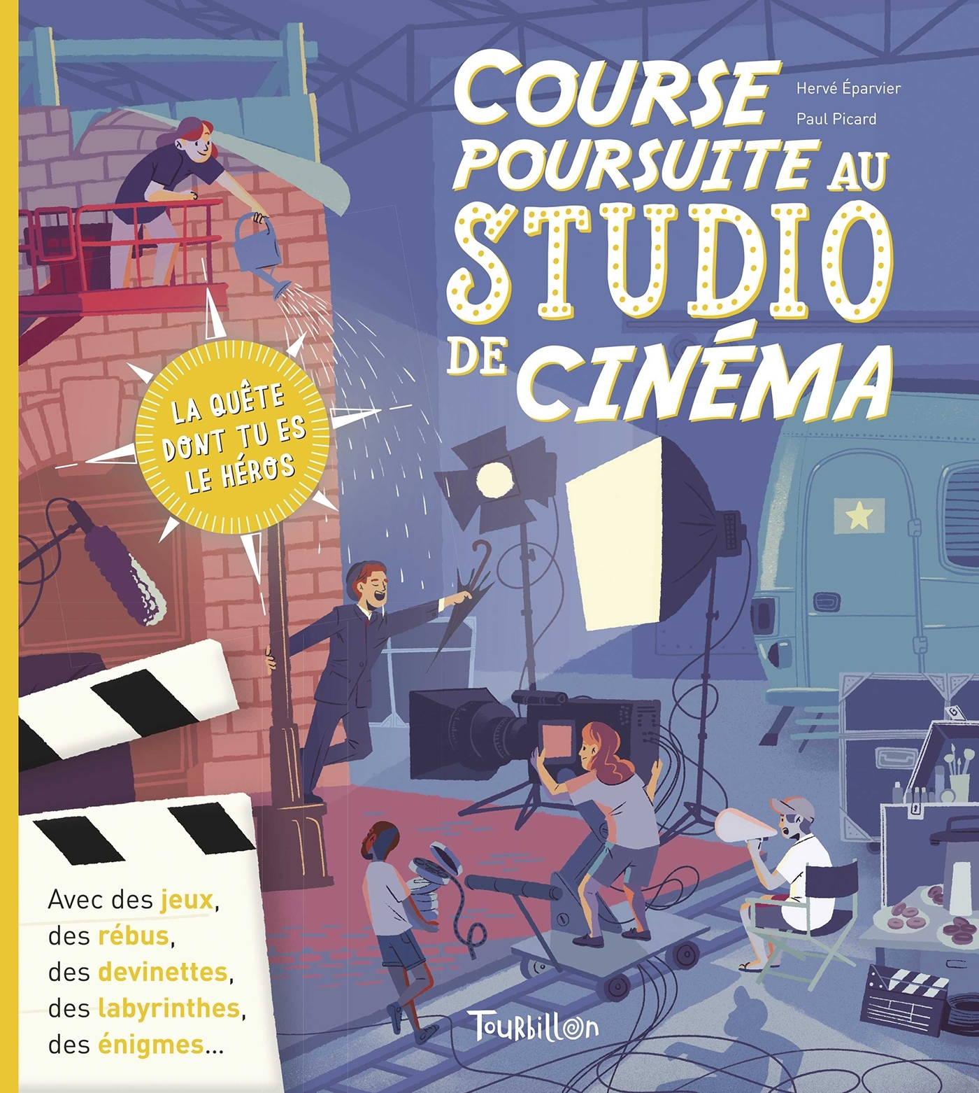 COURSE POURSUITE AU STUDIO DE CINEMA