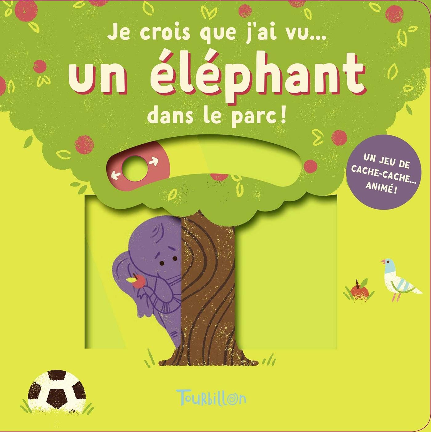 JE CROIS QUE J'AI VU... UN ELEPHANT DANS LE PARC !