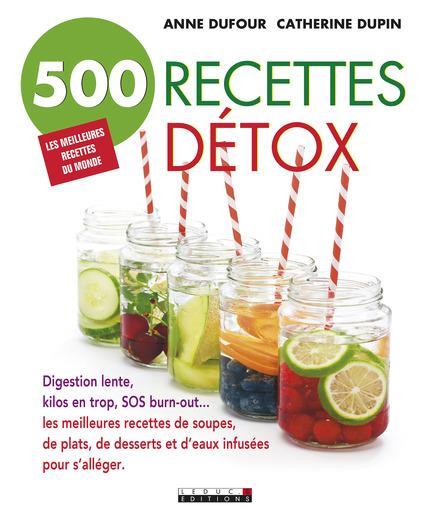 500 RECETTES DETOX