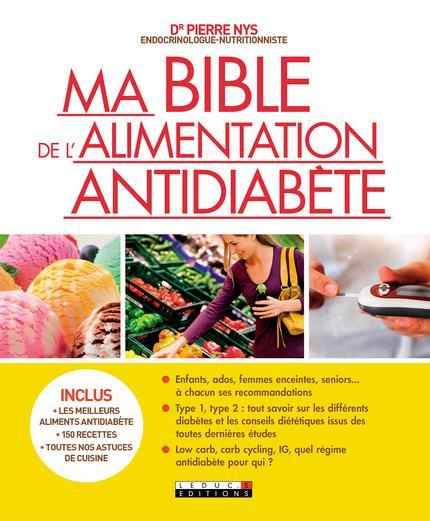 MA BIBLE DE L'ALIMENTATION ANTIDIABETE