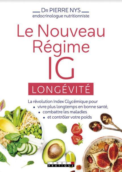 LE NOUVEAU REGIME INDEX GLYCEMIQUE LONGEVITE