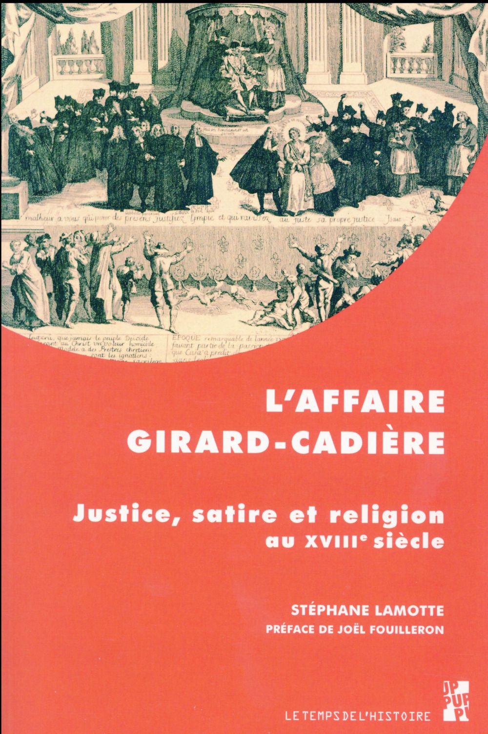 AFFAIRE GIRARD CADIERE