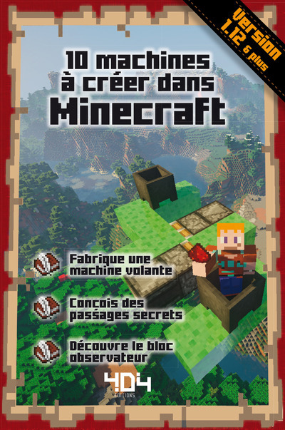 10 MACHINES A CREER DANS MINECRAFT