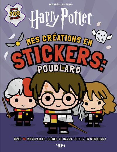 HARRY POTTER - MES CREATIONS EN STICKERS : POUDLARD