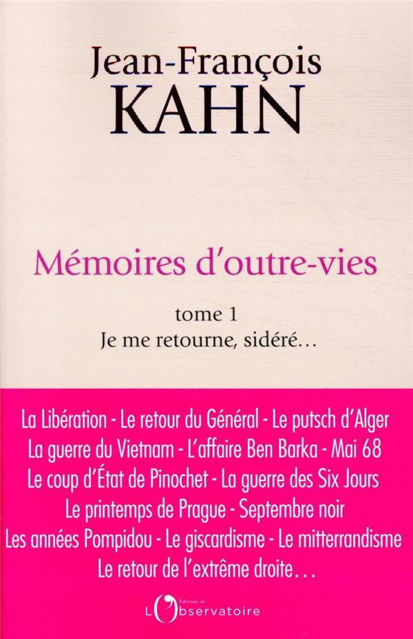 Memoires d'outre-vies (tome 1)
