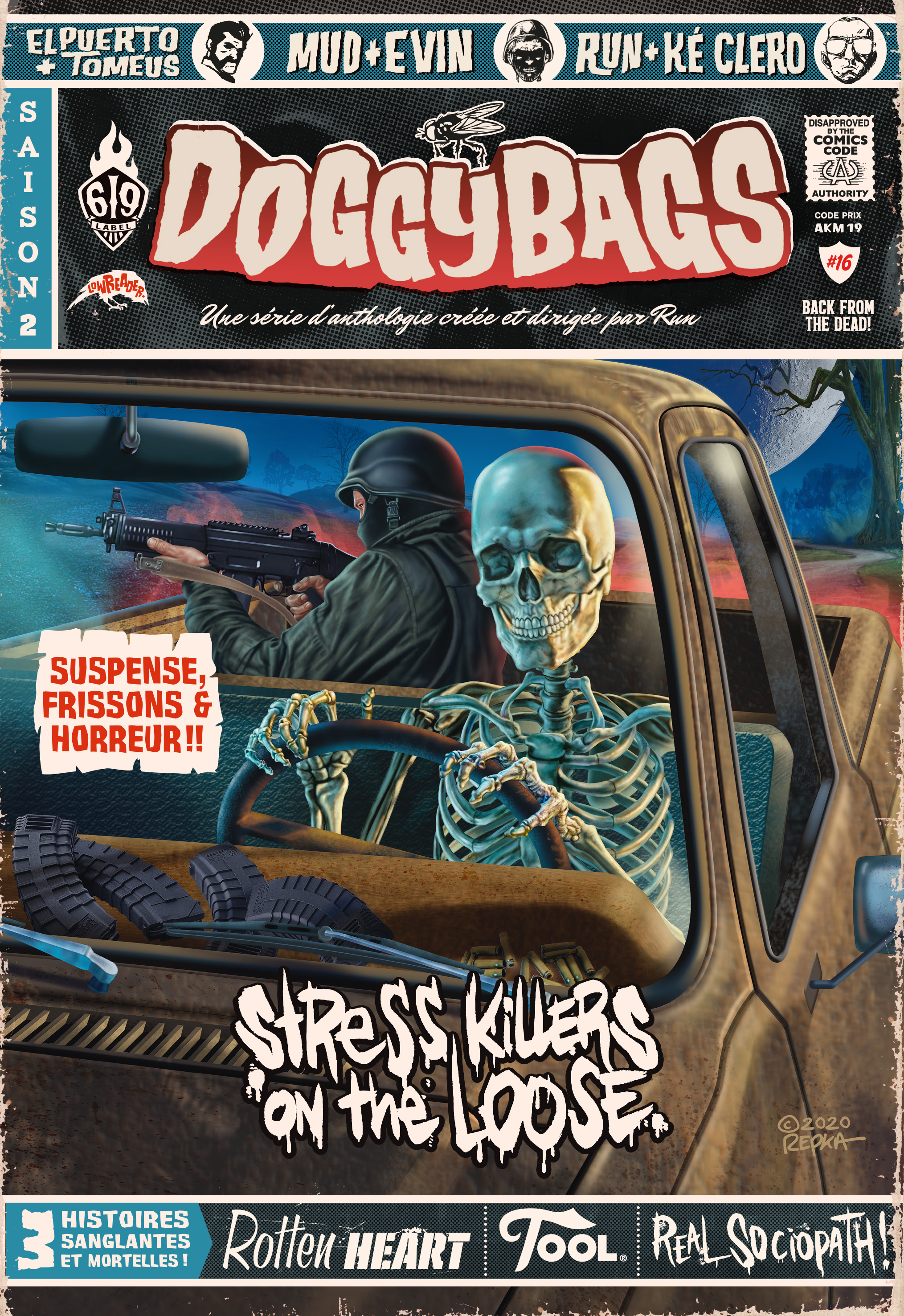 DOGGYBAGS, TOME 16. STRESS KILLERS ON THE LOOSE