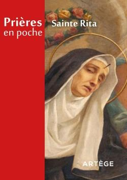 PRIERES EN POCHE - SAINTE RITA