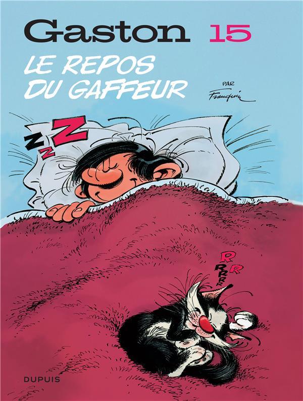 Gaston (edition 2018) - tome 15 - le repos du gaffeur