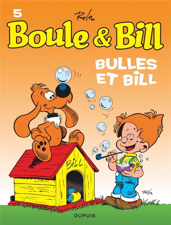 Boule et bill - tome 5 - bulles et bill