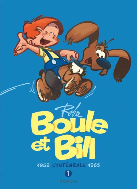 Boule et bill - l'integrale - tome 1