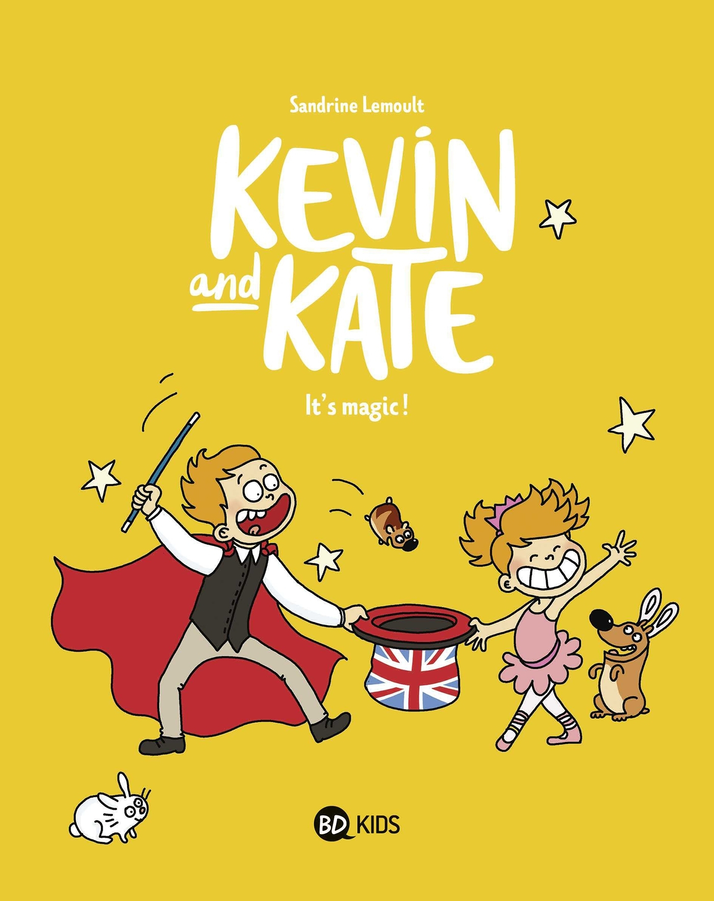 KEVIN AND KATE, TOME 04 - IT'S MAGIC !