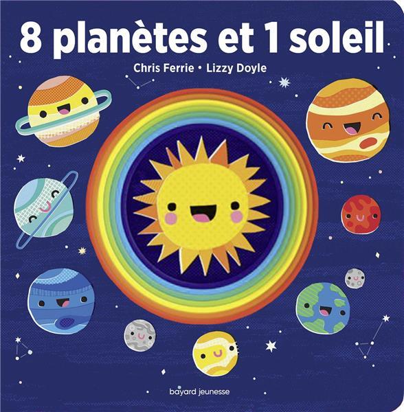 8 planetes et 1 soleil